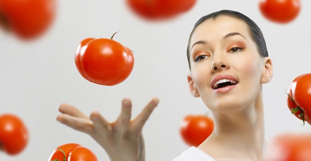 Kandungan yang terdapat dalam Masker tomat