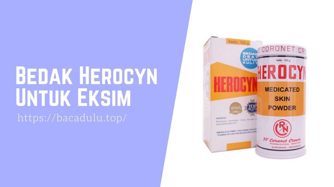 Bedak Herocyn Untuk Eksim