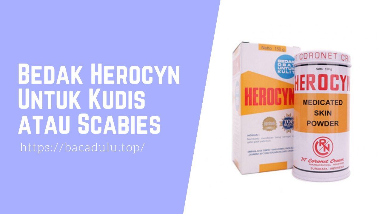 Bedak Herocyn Untuk Kudis atau Scabies