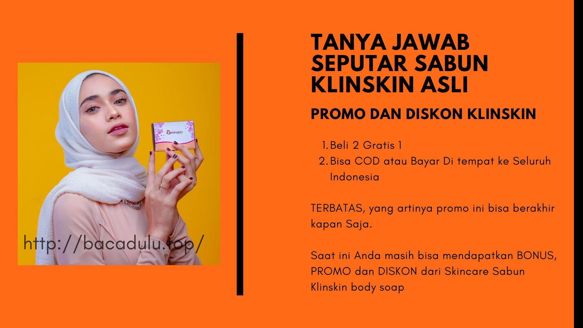 Benarkah ada Promo Beli 2 Gratis 1 dan Bisa Cod atau Bayar di Tempat ke Seluruh Indonesia ?