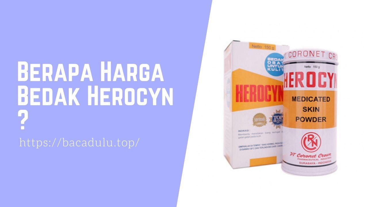 Berapa Harga Bedak Herocyn Medicated Skin Powder, Bedak Untuk Kulit Gatal