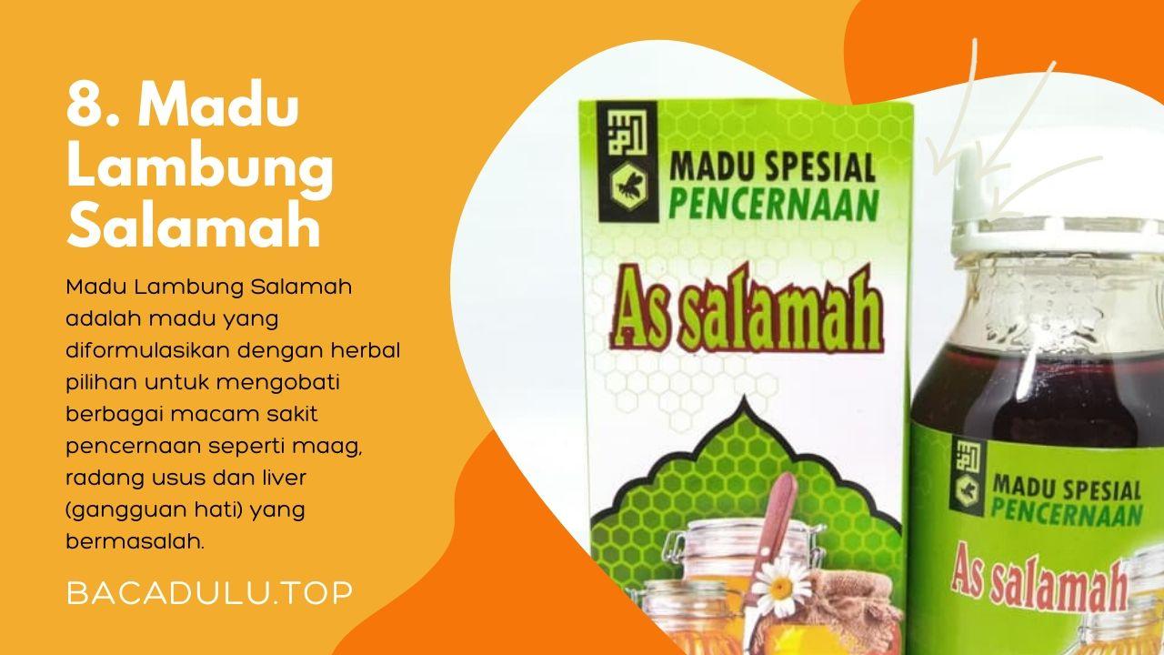 Merk madu terbaik ampuh yang bagus untuk asam lambung dan maag As Salamah