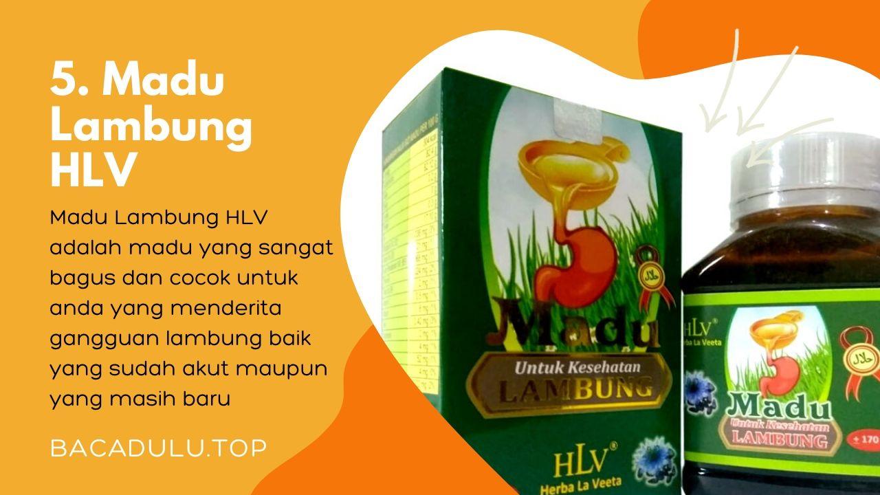Merk madu terbaik ampuh yang bagus untuk asam lambung dan maag HLV