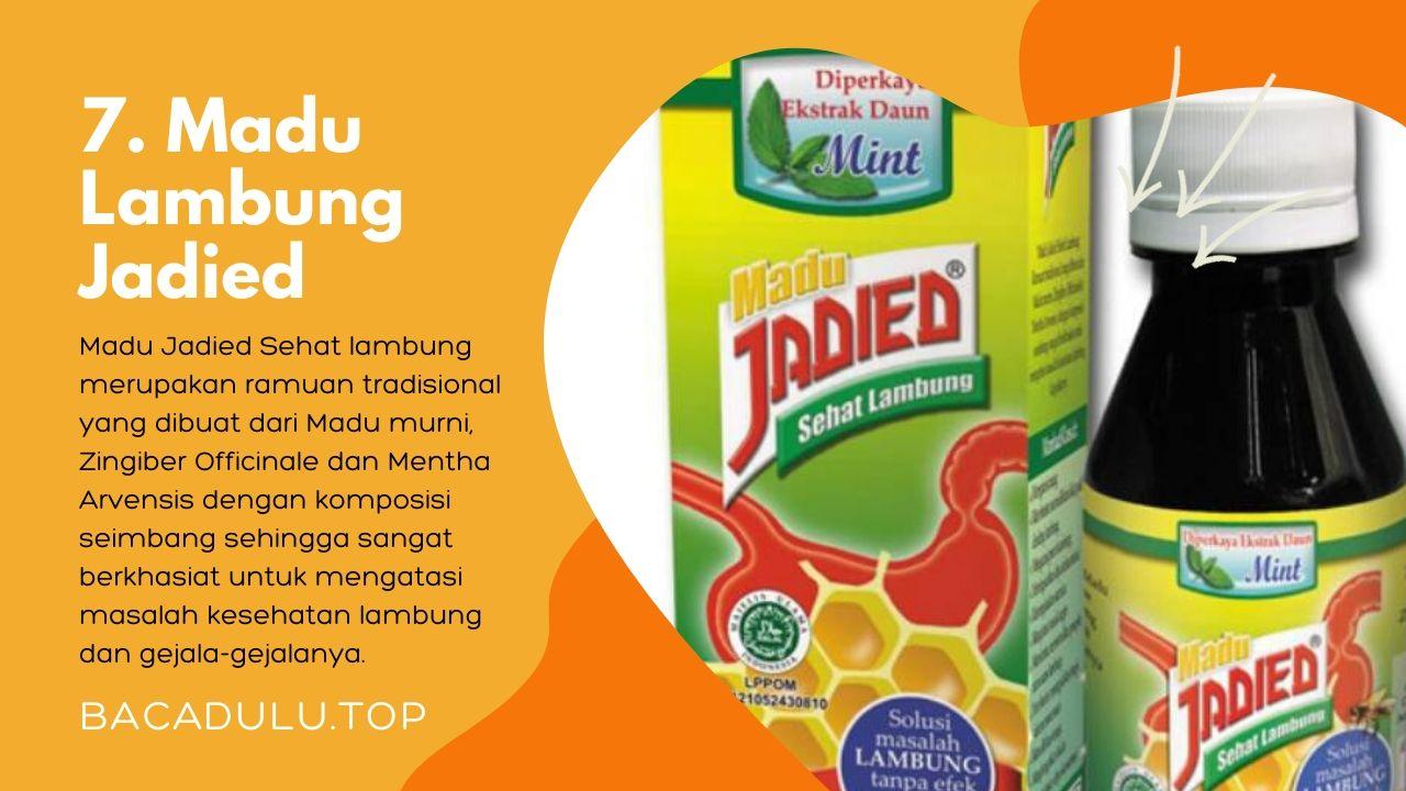 Merk madu terbaik ampuh yang bagus untuk asam lambung dan maag Jadied Masela