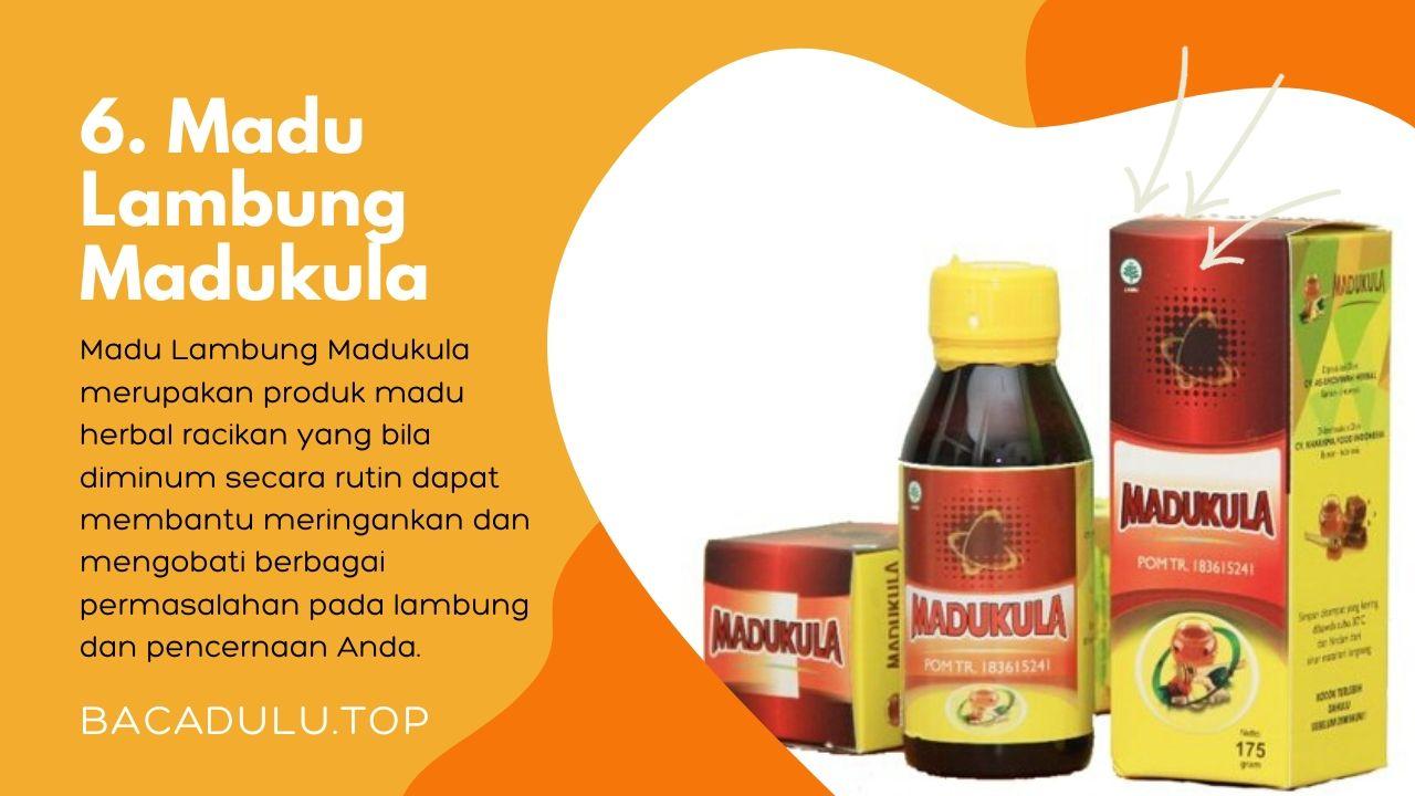 Merk madu terbaik ampuh yang bagus untuk asam lambung dan maag Madukula