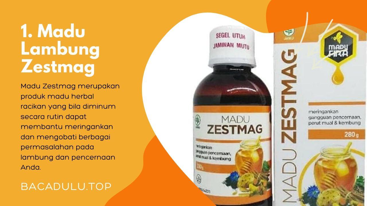Merk madu yang bagus untuk asam lambung dan maag Zestmag