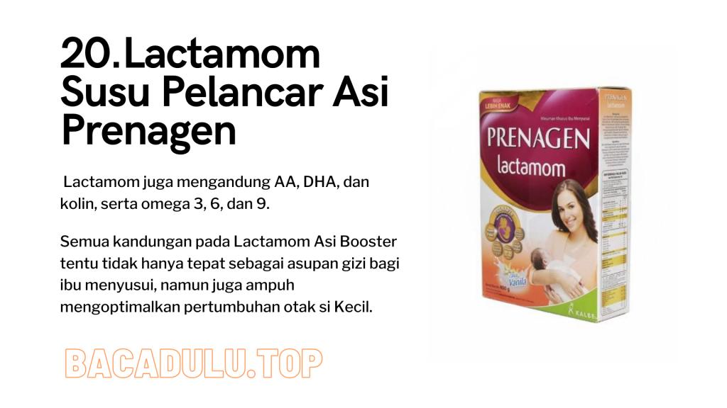Merk Obat Vitamin Teh Susu Madu Suplemen Pelancar Asi Terbaik Yang Bagus Review Lactamom Susu Pelancar Asi Prenagen