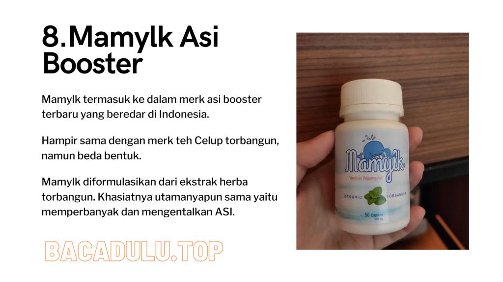 Merk Obat Vitamin Teh Susu Madu Suplemen Pelancar Asi Terbaik Yang Bagus Review Mamylk Asi Booster