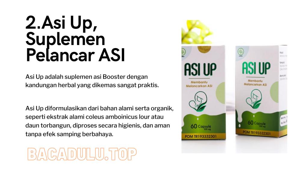 Merk Obat Vitamin Teh Susu Madu Suplemen Pelancar Asi Terbaik Yang Bagus Review Asi Up, Suplemen Pelancar ASI