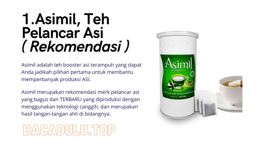 Merk Obat Vitamin Teh Susu Madu Suplemen Pelancar Asi Terbaik Yang Bagus Review Asimil, Teh Pelancar Asi ( Rekomendasi )