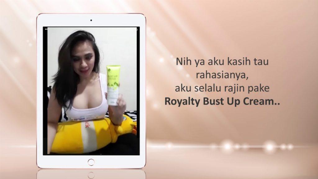 Cara Kerja Bust Up Cream Royalty Cosmetic Krim Pembesar Payudara Wanita