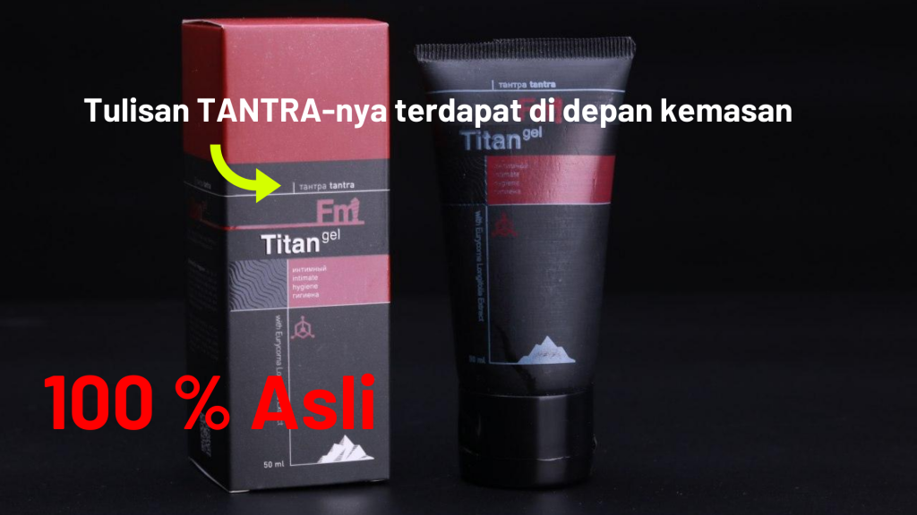 Kemasan Titan Gel Tantra Intimate Hygiene