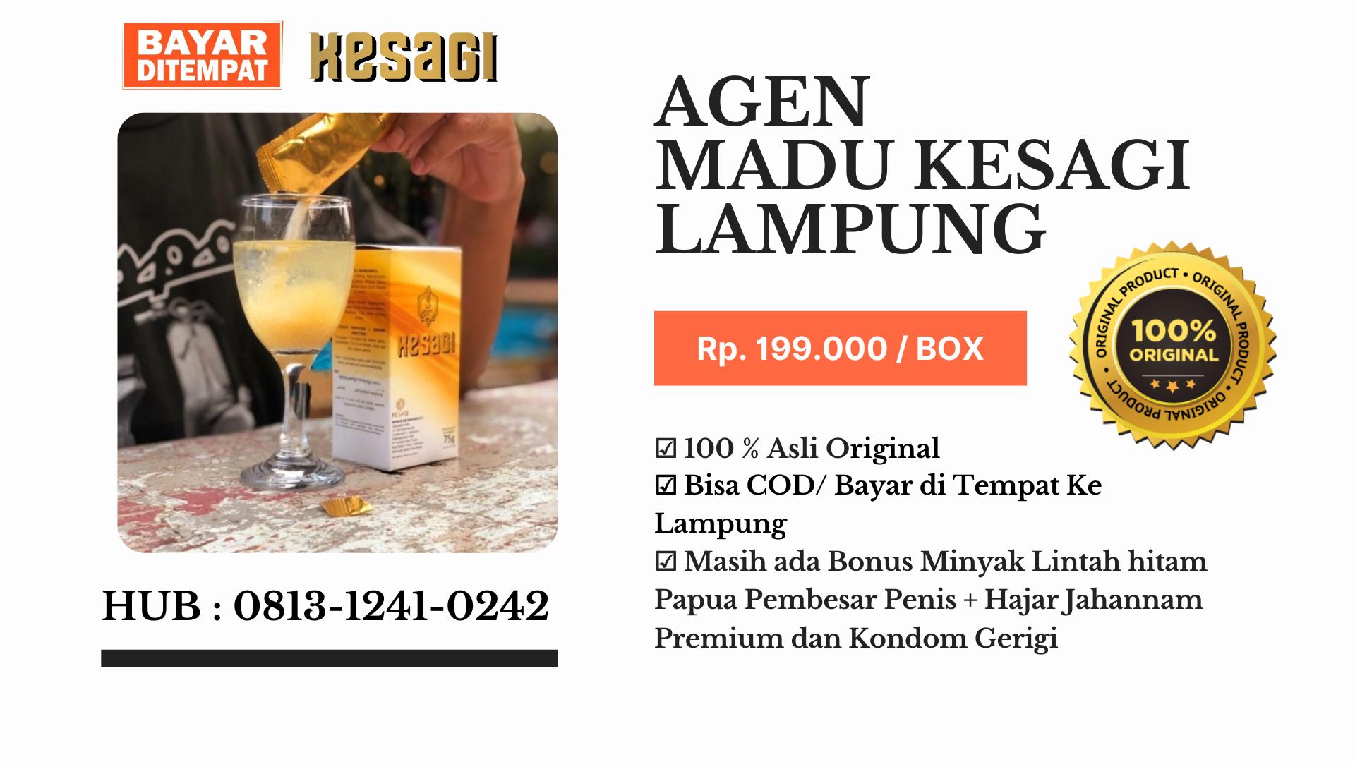 Agen Kesagi Lampung Hub : 0813-1241-0242-COD