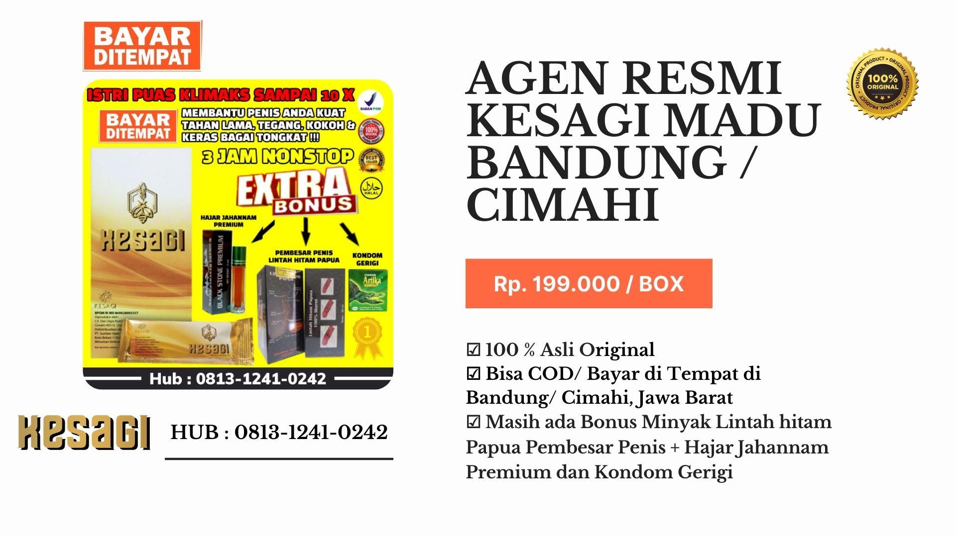 Agen Kesagi Cimahi/Bandung Hub : 0813-1241-0242-COD