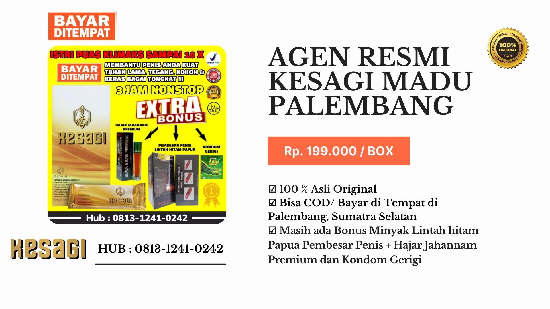 Agen Kesagi Palembang Hub : 0813-1241-0242-COD