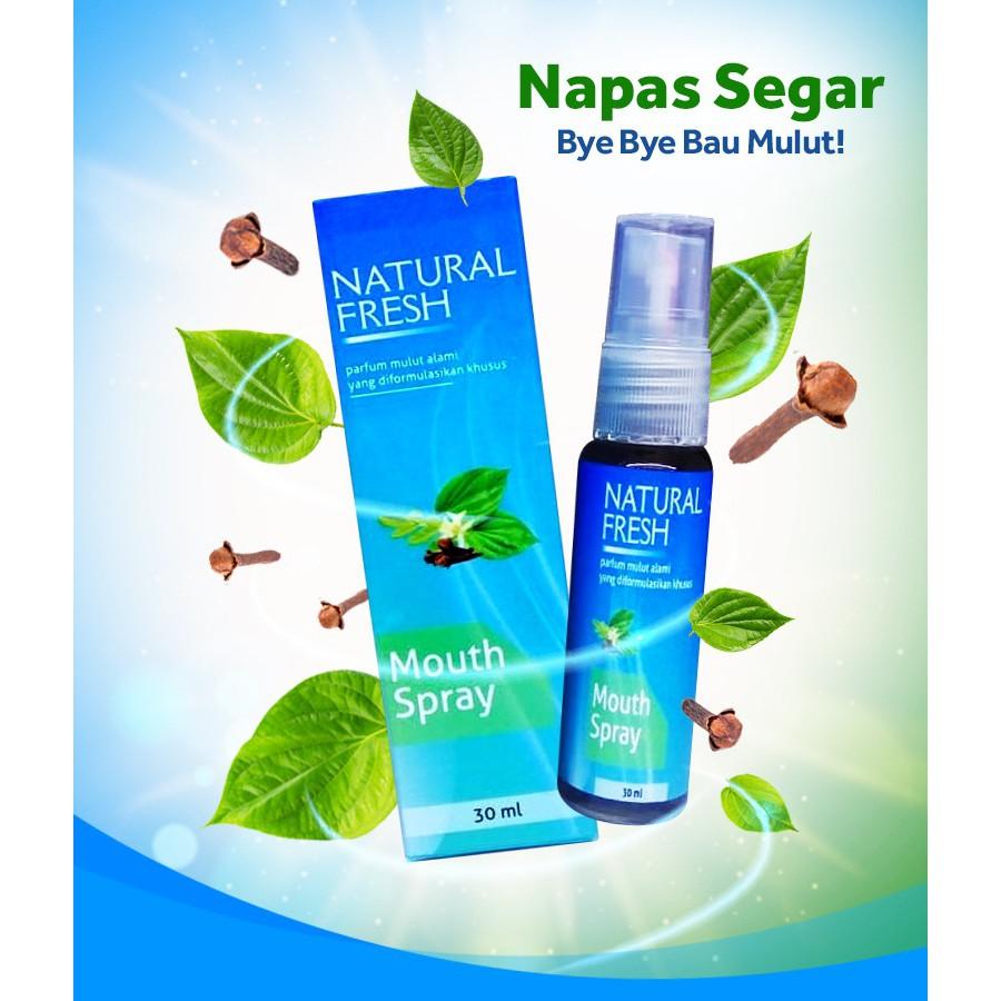 Komposisi Natural Fresh Untuk Bau Mulut