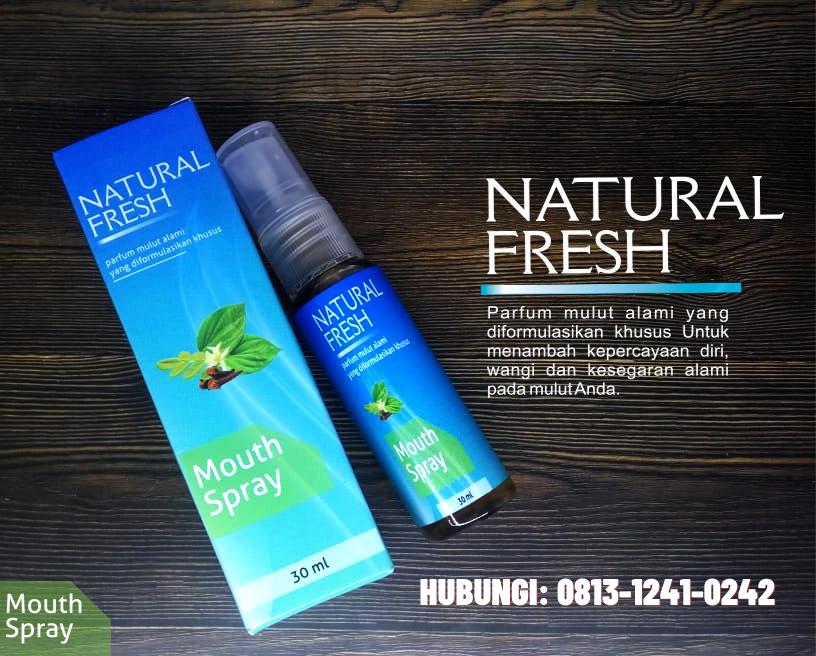 Manfaat Natural Fresh Untuk Bau Mulut