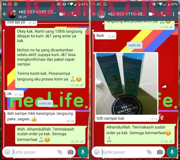 Review ( Testimoni ) Natural Fresh Untuk Bau Mulut