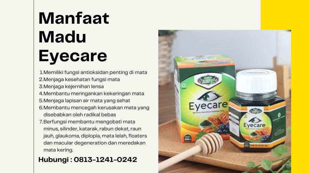 Manfaat Madu Eyecare