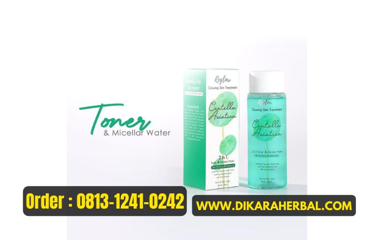 REGLOW: Glowing Skin Treatment 2 in 1 Toner & Micellar Water